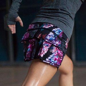 Lululemon Run: Pace Setter Skirt Spring Floral 2T